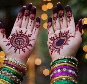 Mehndi Bangles Hands Display Picture